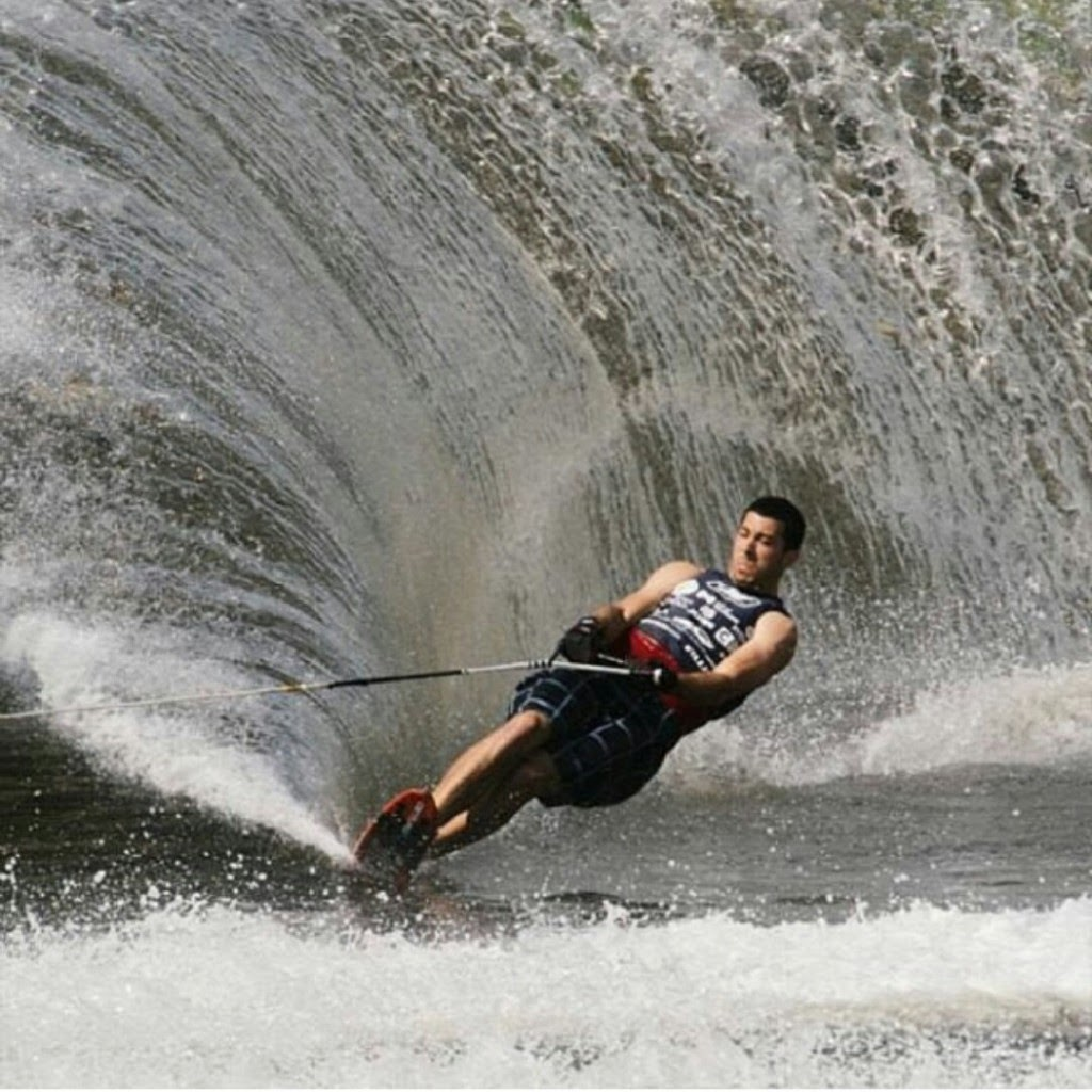 Detrick Finishes 2nd, 3rd In Pro Waterskiing Events In Austrailia