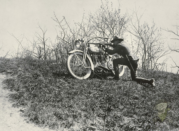 World War  Harley Davidson