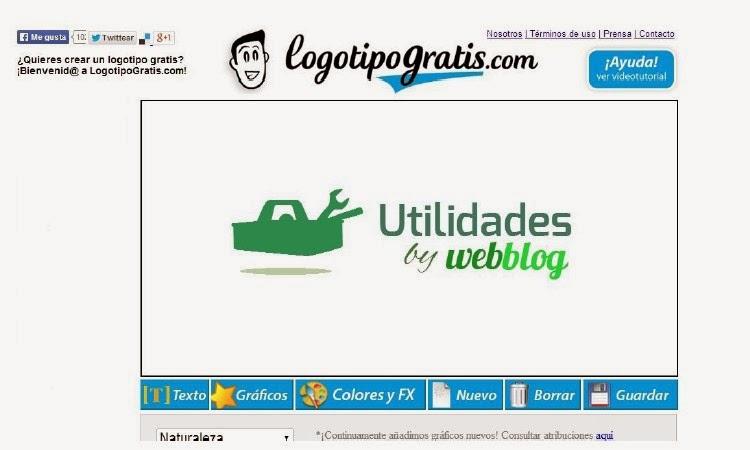 LOGOTIPOGRATIS.COM, CREA TU LOGOTIPO ONLINE GRATIS