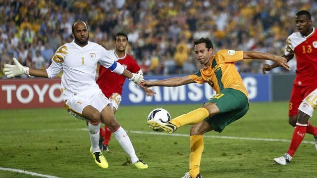 موعد مشاهدة مباراة عمان وأستراليا اليوم الثلاثاء 13/1/2015 والقنوات الناقلة مباشرة