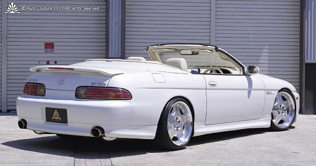 Lexus SC500, tuning, JDM, ciekawe wersje samochodów, kabriolet, auta na zamówienie