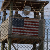 The flag at Guantanamo prison is a shameful admission of America's abuses.