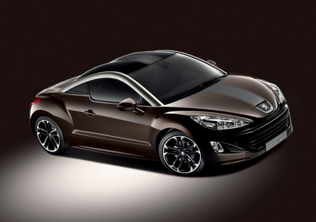 Peugeot RCZ Brownstone as an exclusive special model