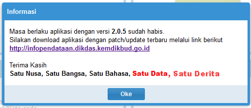 Download Dapodik Versi 2.0.6