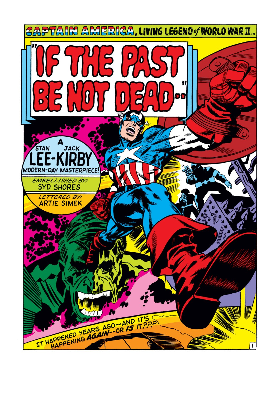 Captain America (1968) Issue #107 #21 - English 2