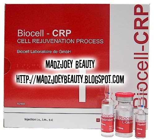 MadzJoey Beauty Biocell CRP Cell Rejuvenation Process