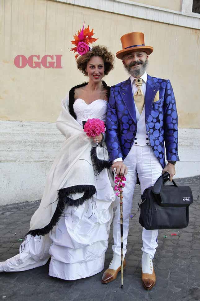 Matrimonio In Bianco E Nero : Oggi sposi oscar giannino foto matrimonio con