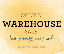 August Warehouse Sale!
