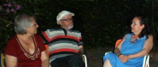Carme Jounou, Jaime D. Parra i Carmen Borja.