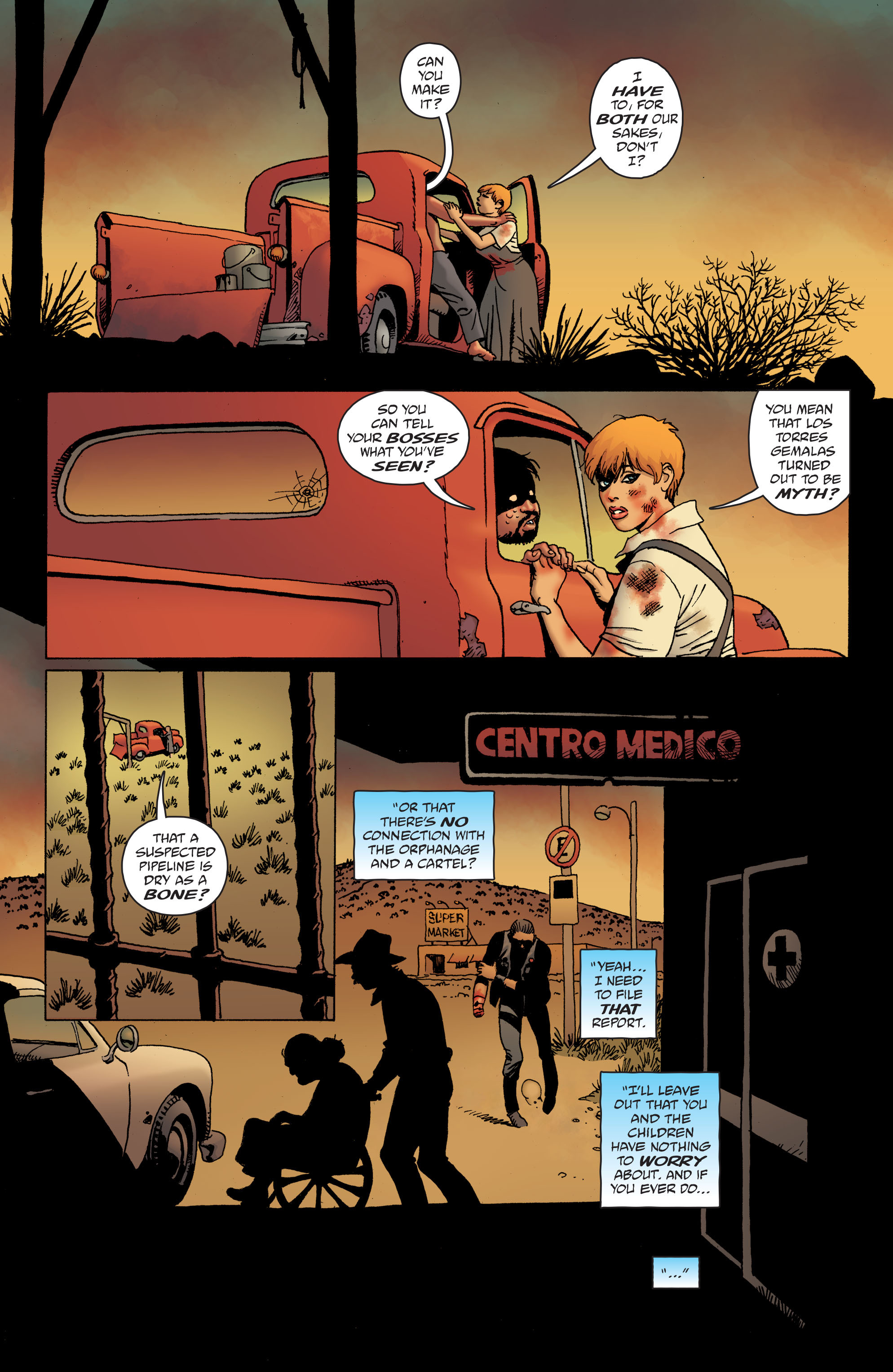 100 Bullets: Brother Lono Full Page 186
