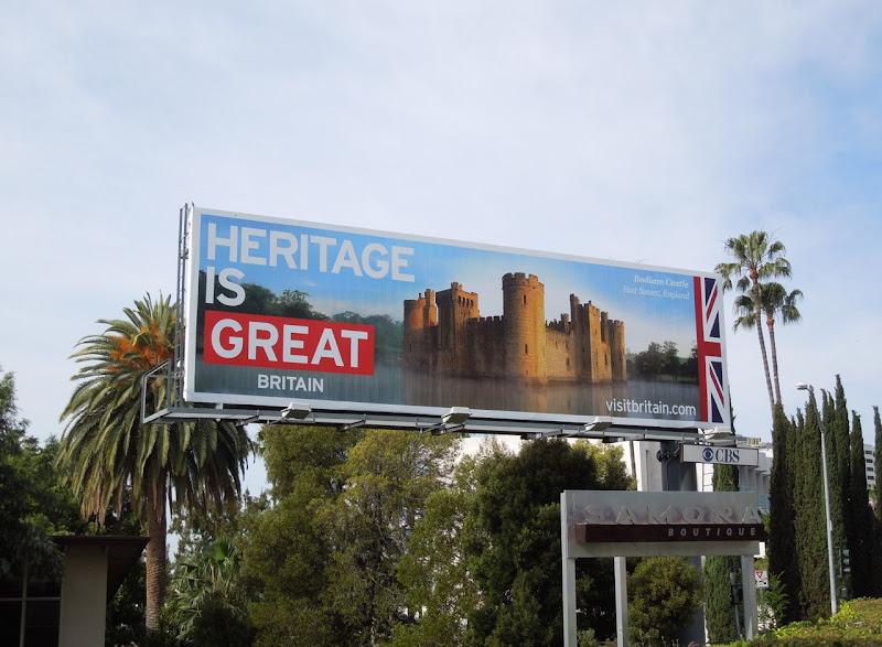 Heritage Great Britain billboard
