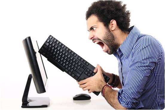 Raiva computador