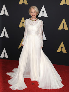 Helen Mirren en los Governors Awards 2015