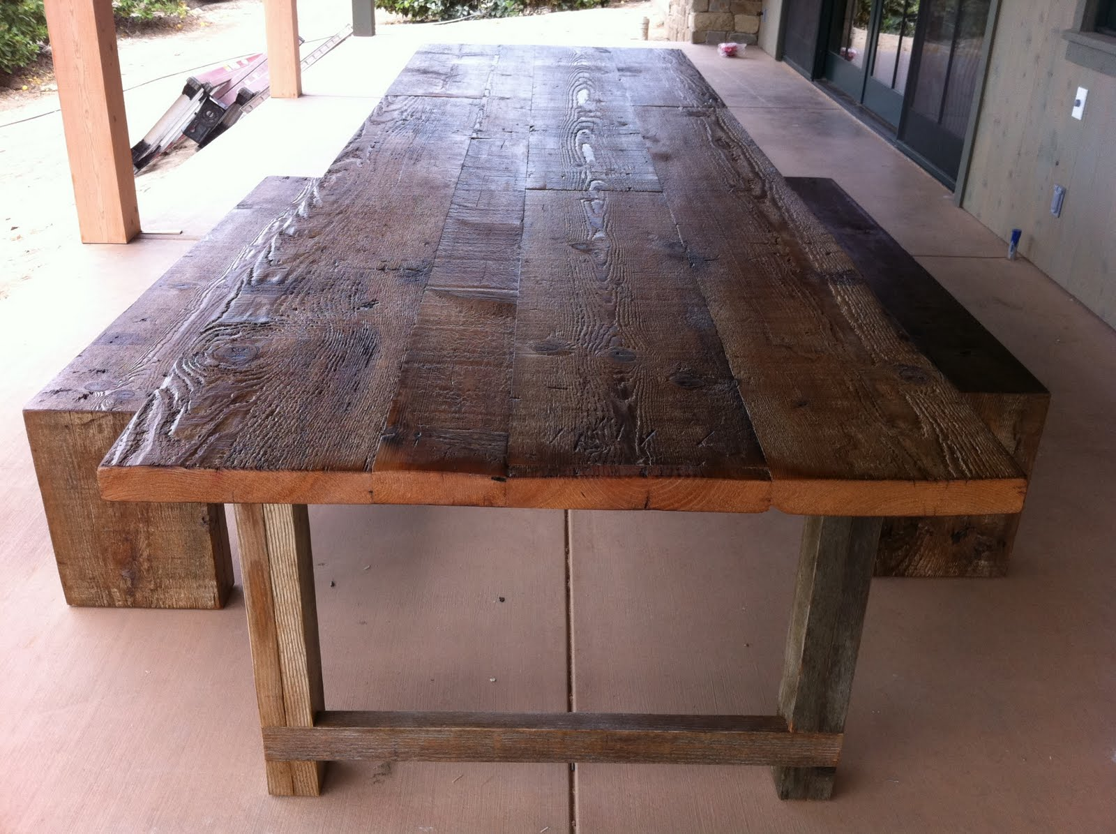 Arbor Exchange Reclaimed Wood Furniture Twelve Foot Dining