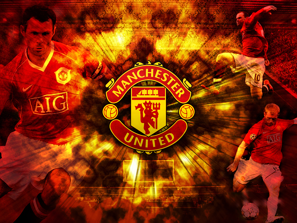 manchester united logo hd wallpapers 2013 2014