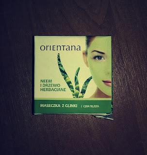 Maseczka z glinki Neem i drzewo herbaciane, Orientana