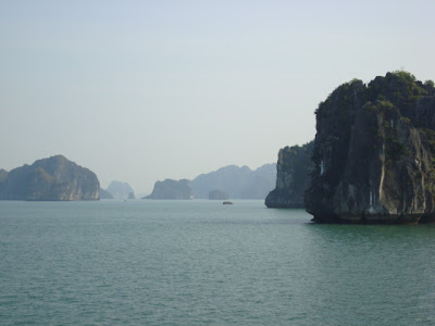 Halong Bay, no Vietnã