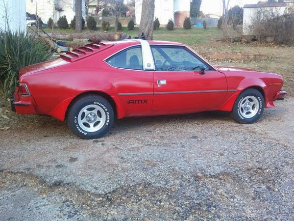 Just A Car Geek 1977 Amc Hornet Amx A Great Name On A Not So Great Car