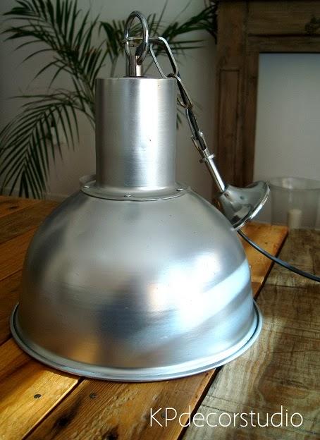 Kp tienda vintage online l mpara industrial para cocina - Lamparas industriales de techo ...