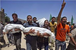 Israeli bombs kill 100 Gazans in single day