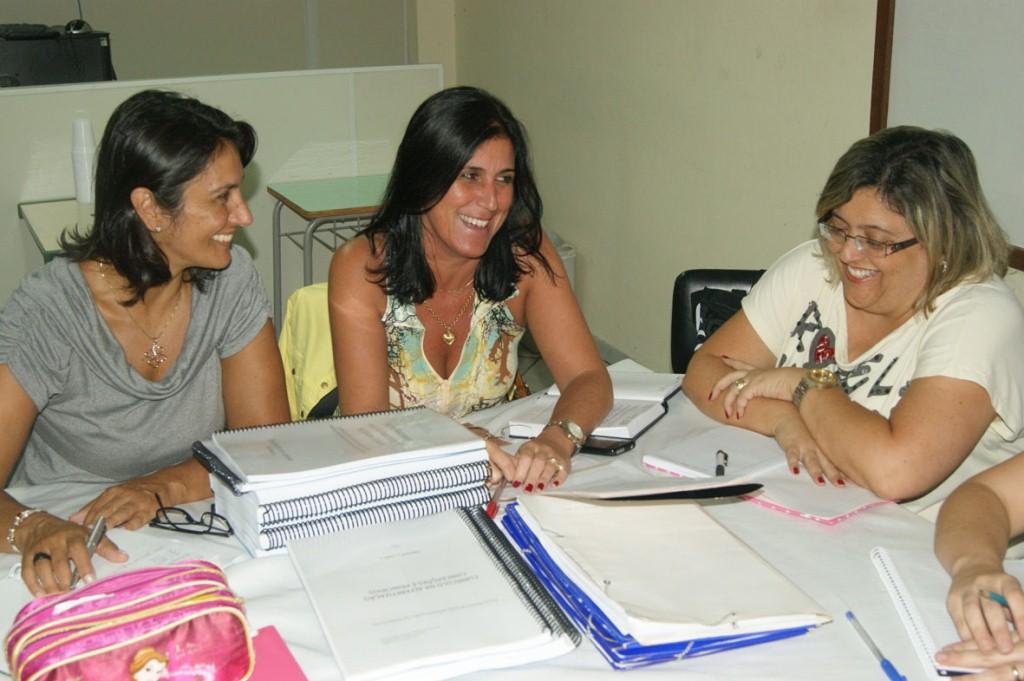 As professoras orientadoras já estão se reunindo para traçar as estratégias do Pacto