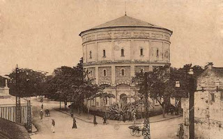 Hang Dau water tower- evidence of a former Hanoi