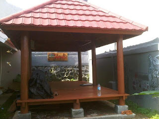 Gazebo Atap Metal Roof
