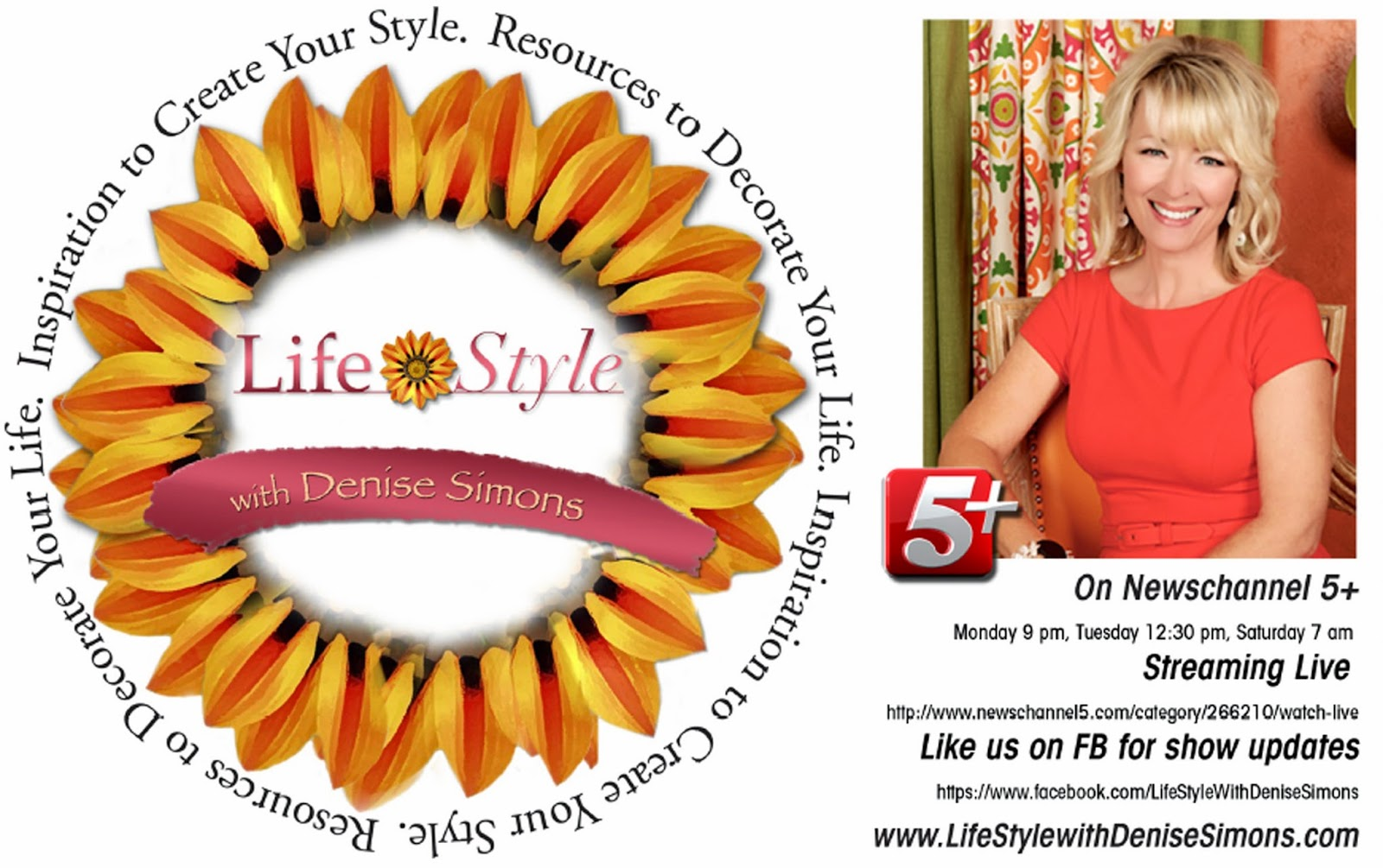 Life Style with Denise Simons