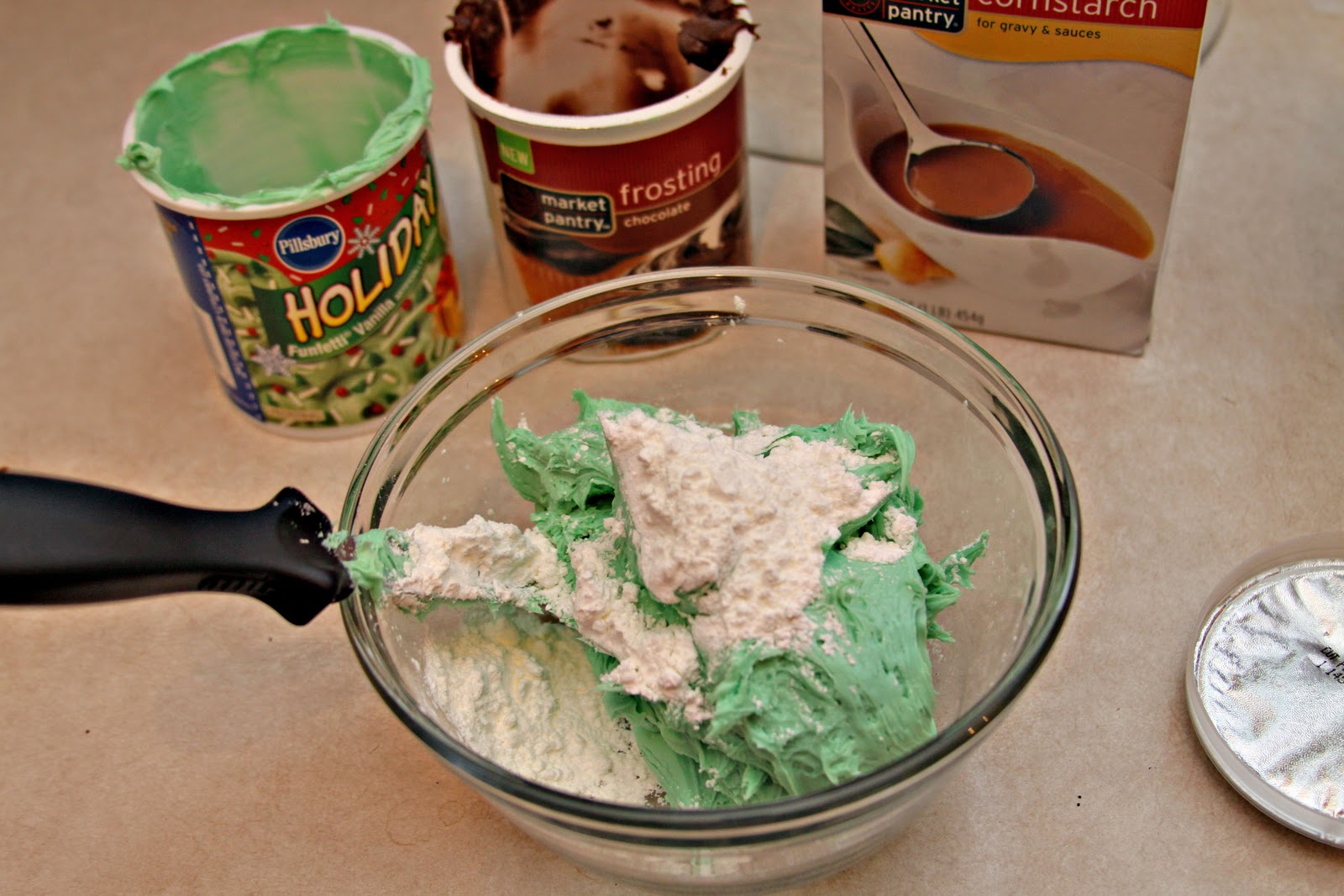 how to thicken icing with cornstarch