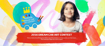 Toyota 2016 Dream Car Art Contest