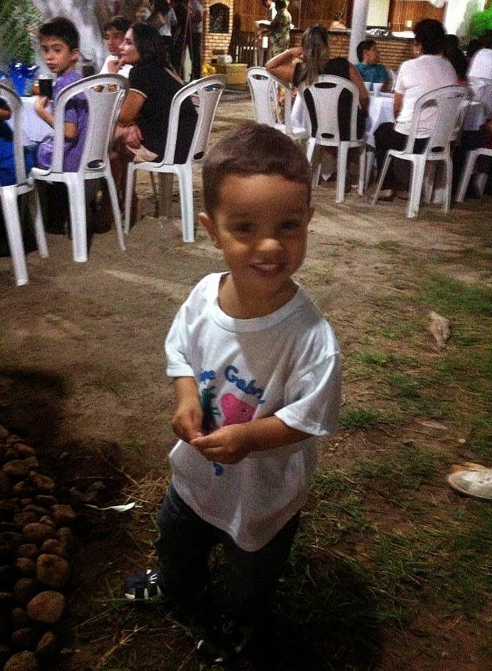 Maria de Fátima Ferreira Costa - Aniversário do sapeca Felipe Gabriel - 2 Aninhos - Tema George Pig