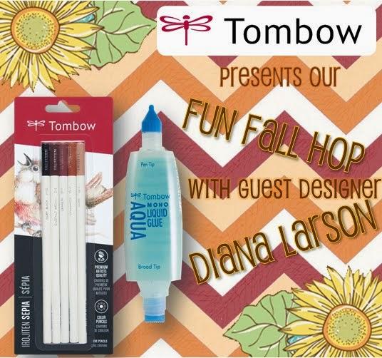 Tombow Fun Fall Blog hop