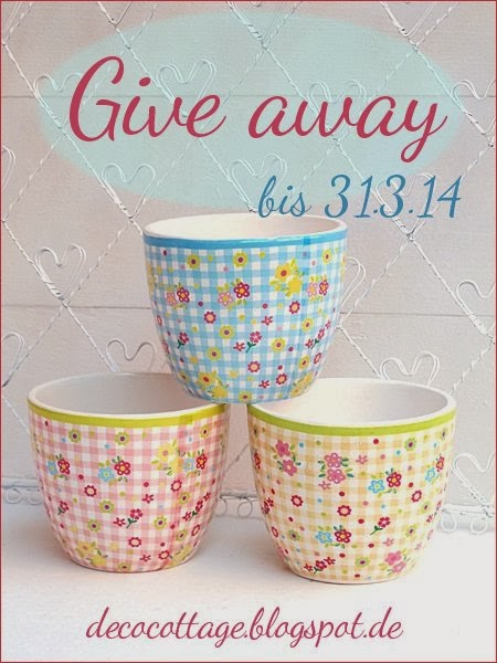 Give away bis 31.3.14