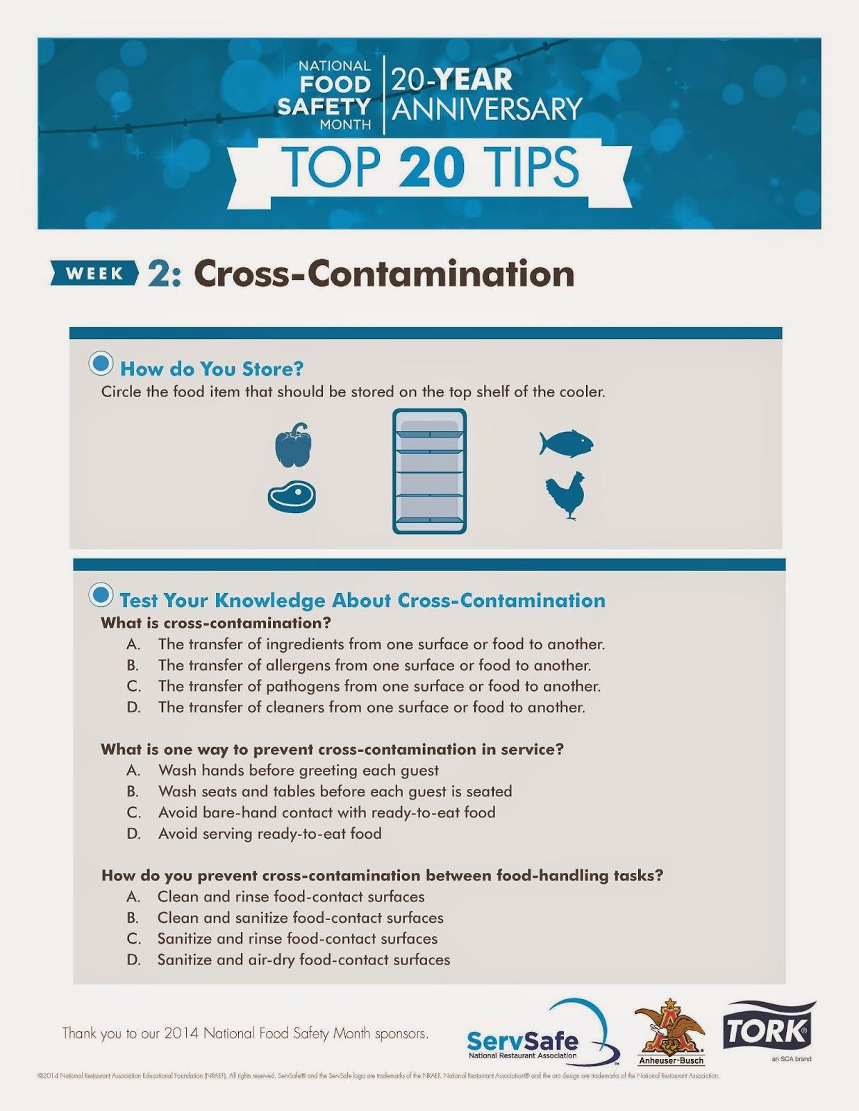 Louisiana Restaurant Association Cross Contamination Subject Of