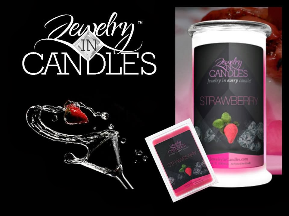 sparkling scents jewelry in candles