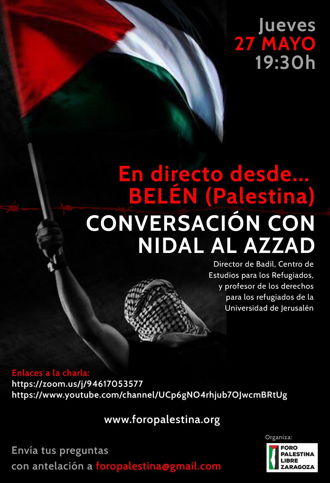 En directo desde Belén, Palestina