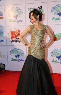 Actress Sonal Chauhan Latest Pictures at Memu Saitam Dinner with Stars Red Carpet  21.jpg