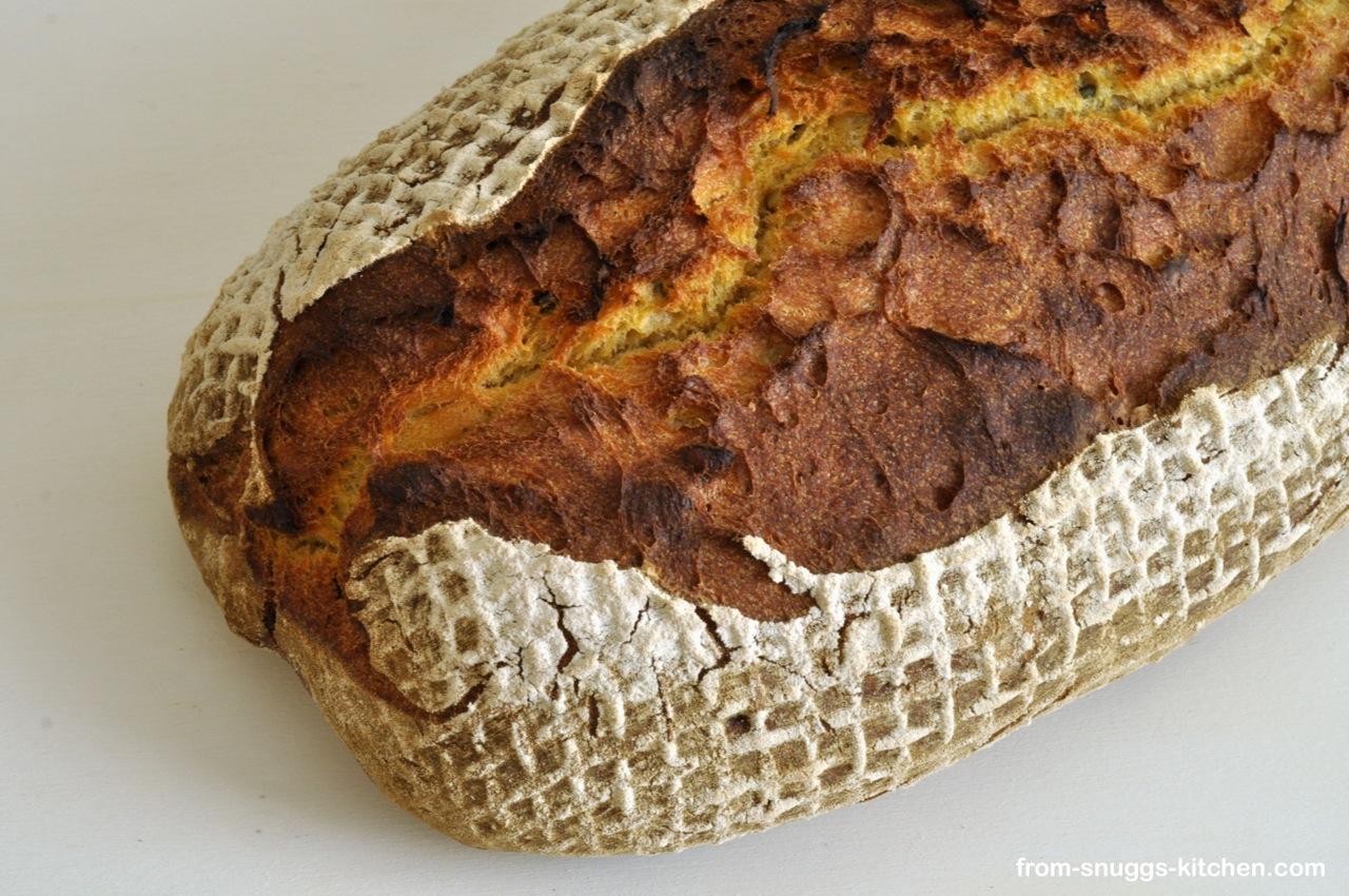 Brot mit Süsskartoffeln