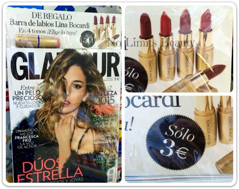 Regalos revistas Enero 2015: Glamour