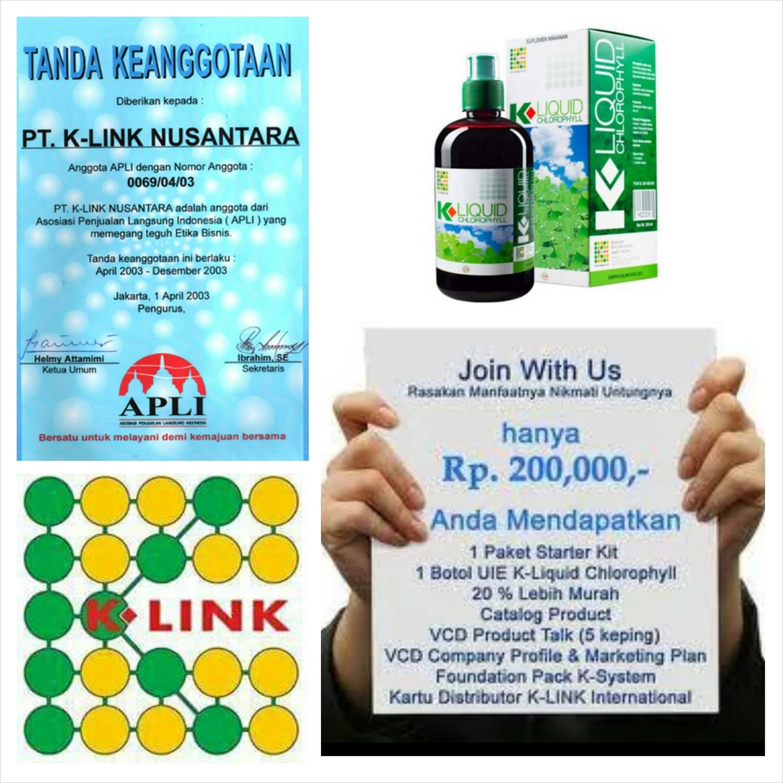 Paket 2 Botol K Link Klorofil Liquid Chlorophyll 500 Ml Daftar Origina Klink Harga Terkini Dan Terlengkap