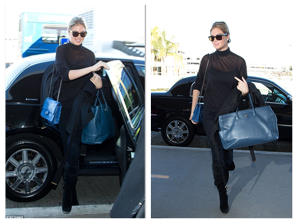 Kate Upton Can Also Be Demure with Her Square Framed Glasses