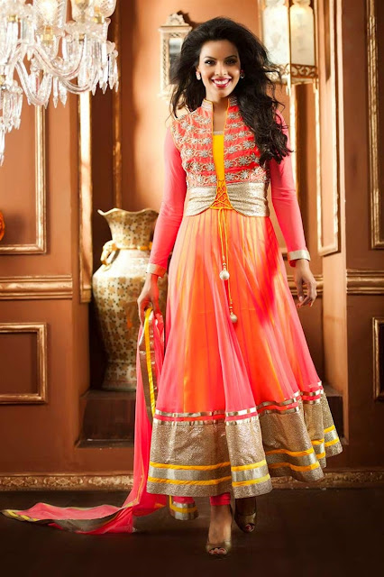 Tantalizing and Dazzling Designer Anarkali Suits