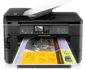 Epson WorkForce WF-7520 Printer Driver Download