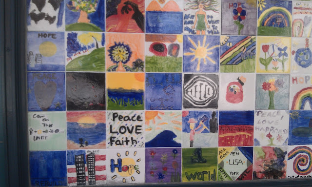 9/11 wall of hope