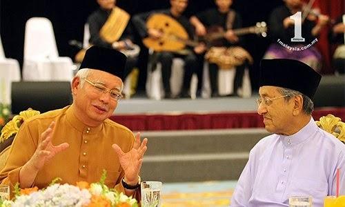 Najib Razak perlu banyak belajar dari Dr Mahathir