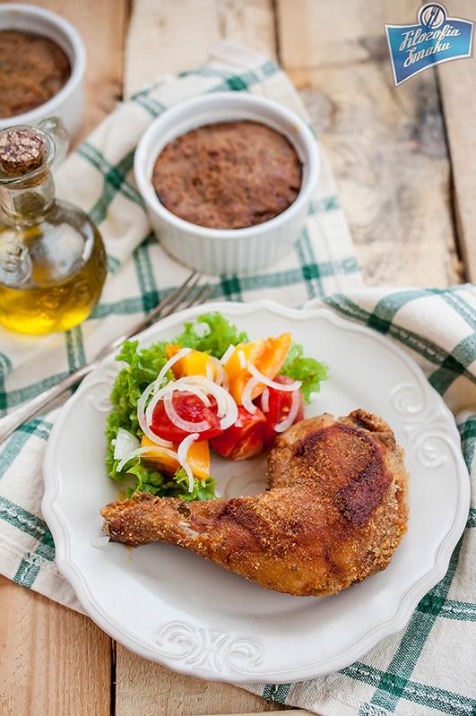 Panierowany kurczak z piekarnika