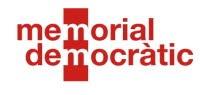 Enlazado por el Memorial Democràtic de Catalunya