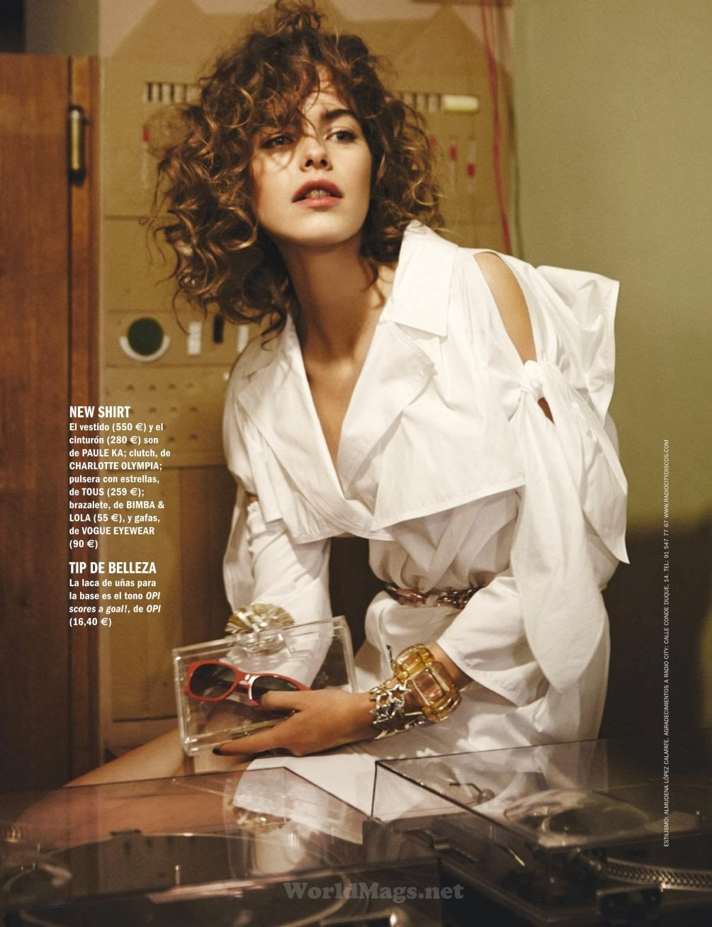 Kelly Spronk HQ Pictures Cosmopolitan Spain Magazine Photoshoot March 2014