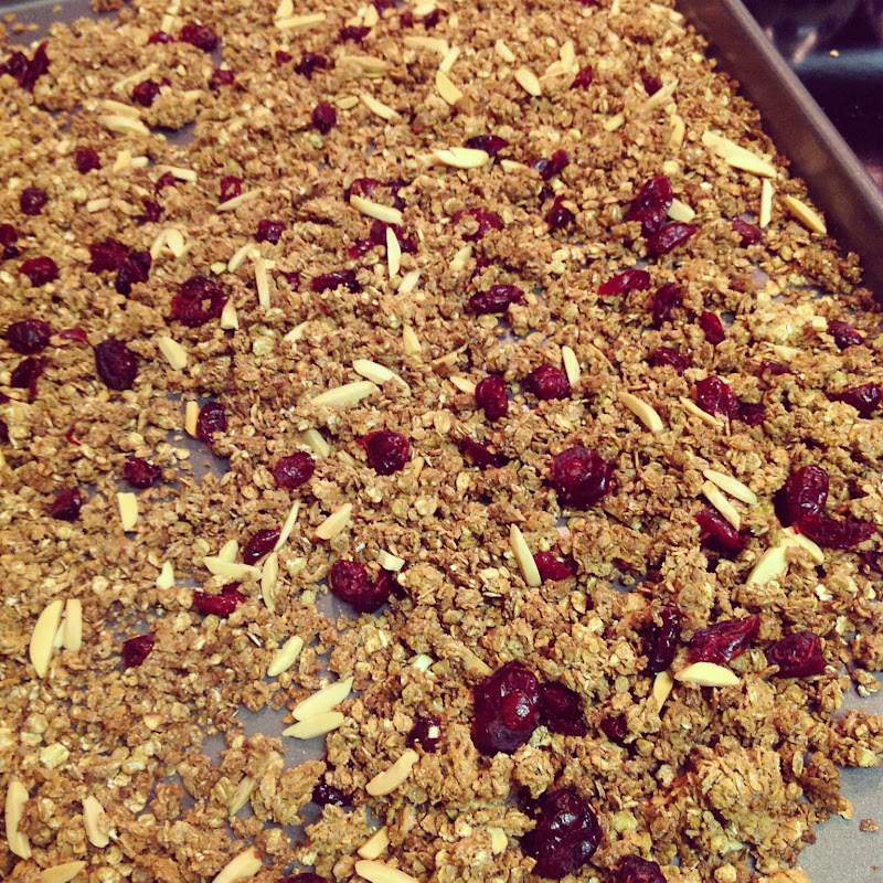 cup of T: Easy Homemade Granola
