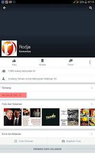 "Netizen Kecam Fanspage ""Rodja"" Karena Melecehkan Simbol Negara"